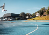 East Outdoor Basketball Courts